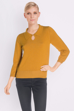 Pull KING LOUIE COLLAR  KNIT TOPDROPLET FANTAI Jaune