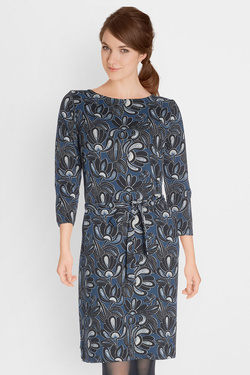 Robe KING LOUIE ZOE DRESS MUCHA Bleu
