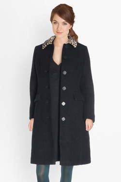 Manteau KING LOUIE NATHALIE COAT RAZZMATAZ Noir