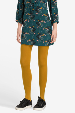 Collant KING LOUIE TIGHTS SOLID Jaune moutarde