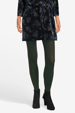 Collant KING LOUIE TIGHTS SOLID Vert foncé