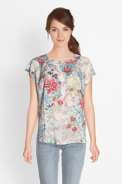 Blouse KING LOUIE 02907 SHIRLEY TOP BOUDOIR Ecru