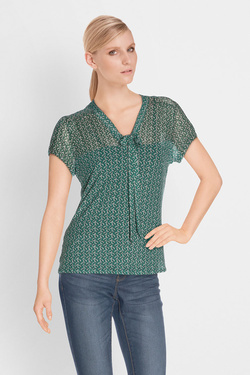 Blouse KING LOUIE 02904 GOLDIE TOP WAIKIKI Vert