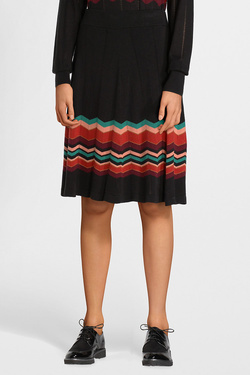 Jupe KING LOUIE 03543 PANEL SKIRT PEAKY Noir