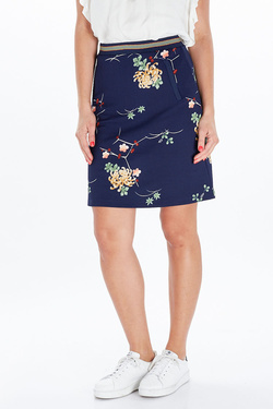 Jupe KING LOUIE 03244 DAVIS SKIRT  SUNSET PARK Bleu marine