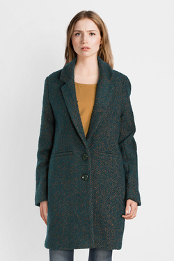 Manteau KING LOUIE 03448 LOTTE COAT CARNEGIE Vert