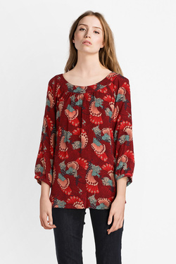 Blouse KING LOUIE 03480 SHIRLEY TOP APOLLO Rouge