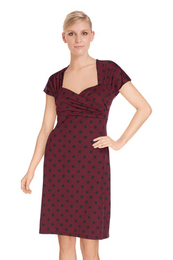 Robe KING LOUIE 6215023 Rouge bordeaux