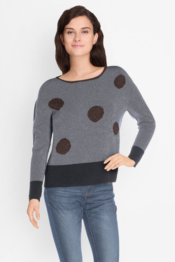 Pull LA FEE MARABOUTEE FB1234 Gris clair