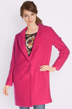 Manteau LA FEE MARABOUTEE FB1647 Rose fuchsia