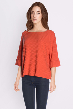 Pull LA FEE MARABOUTEE FB1767 Orange