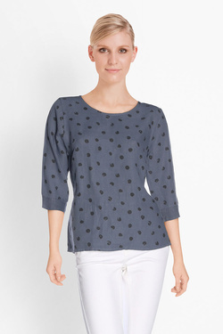 Blouse LA FEE MARABOUTEE FB3081 Bleu
