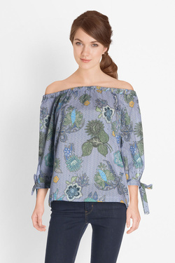 Blouse LA FEE MARABOUTEE FB3259 Bleu