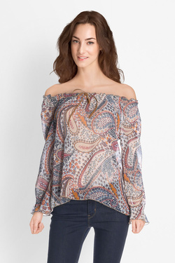 Blouse LA FEE MARABOUTEE FB3104 Ecru