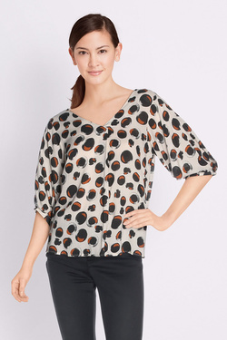 Blouse LA FEE MARABOUTEE FB3485 Ecru