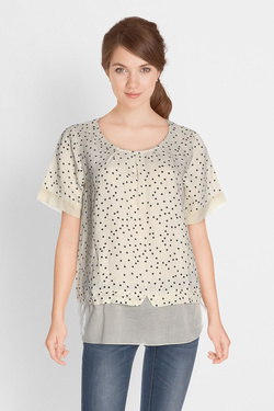 Blouse LA FEE MARABOUTEE FB3627 Ecru
