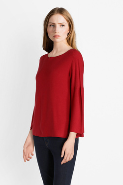 Pull LA FEE MARABOUTEE FB3312 Rouge