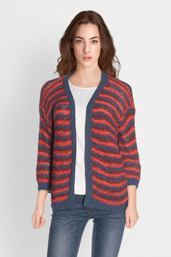 Gilet LA FEE MARABOUTEE FB3590 Rouge