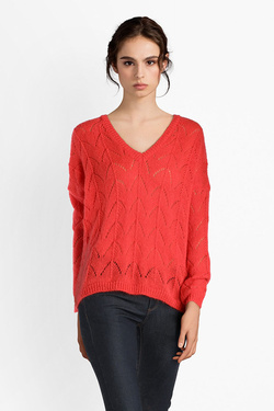 Pull LA FEE MARABOUTEE FB5472 Rouge