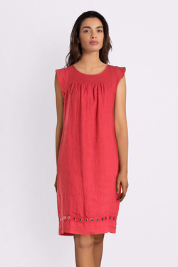 Robe LA FEE MARABOUTEE FB7086 Rouge
