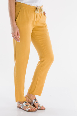 Pantalon LA FEE MARABOUTEE FB7273 Jaune moutarde