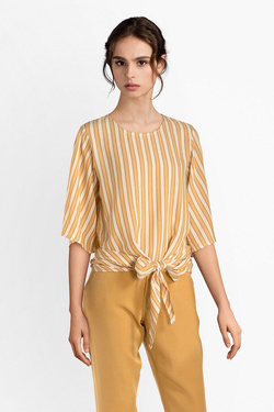 Blouse LA FEE MARABOUTEE FB7118 Jaune