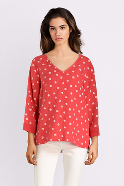 Blouse LA FEE MARABOUTEE FB7310 Corail