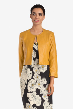 Veste LA FEE MARABOUTEE FB7401 Jaune moutarde