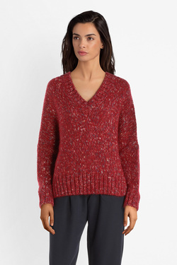 Pull LA FEE MARABOUTEE FC1653 Rouge