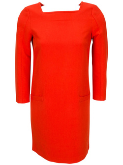 LA FEE MARABOUTEE Robe orange FA1475