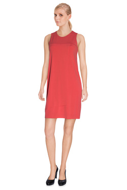 LA FEE MARABOUTEE Robe sans manches rouge FA3664