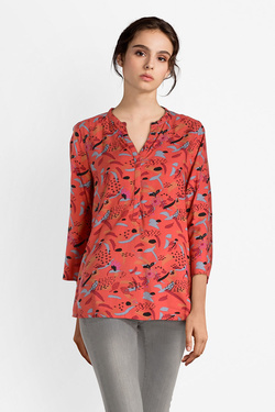 Blouse LA FIANCEE DU MEKONG AFTB TOP BALIA Orange