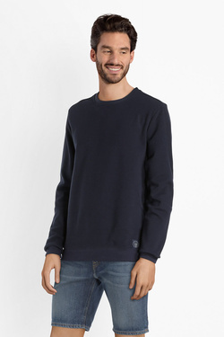 Sweat-shirt LA GENTLE FACTORY 707867 Bleu marine