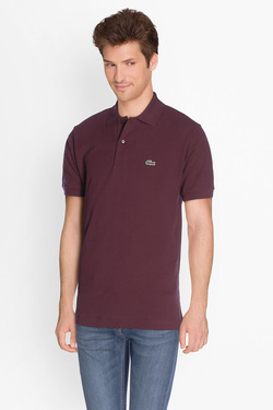 Polo LACOSTE L 1212 Rouge bordeaux