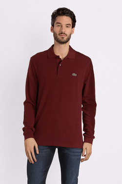 Polo LACOSTE L1313 Rouge bordeaux