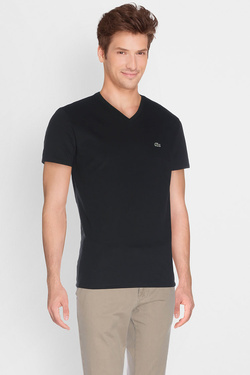 LACOSTE - Tee-shirtTH6604Noir