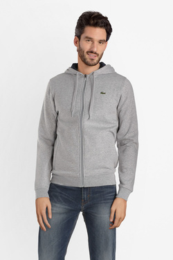 Sweat-shirt LACOSTE SH 7609 Gris clair