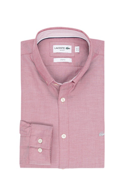 Chemise manches longues LACOSTE CH 9627 Rouge