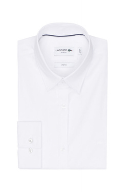 Chemise manches longues LACOSTE CH 9628 Blanc