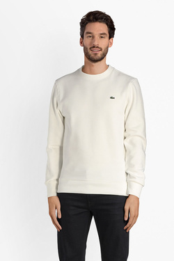 Sweat-shirt LACOSTE SH3284 Ecru