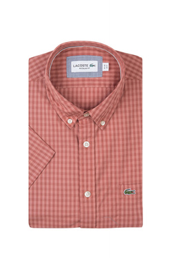 Chemise manches courtes LACOSTE CH9608 Rouge