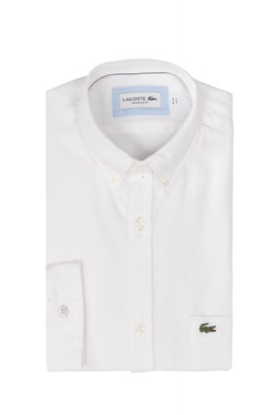 Chemise manches longues LACOSTE CH5010 Blanc