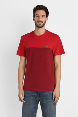 Tee-shirt LACOSTE TH3161 Rouge