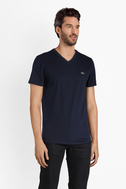 Tee-shirt LACOSTE TH6710 Bleu marine