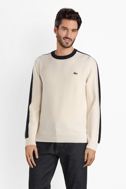 Pull LACOSTE AH9163 Blanc