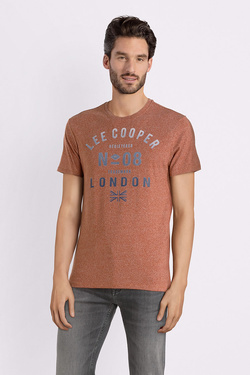 Tee-shirt LEE COOPER 0065192747 Orange