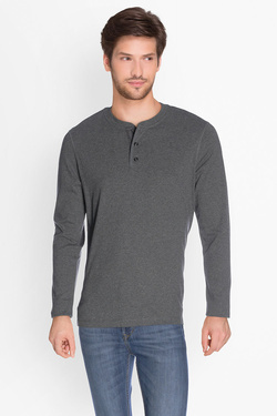 Tee-shirt manches longues LEE L61HEQ06 Gris