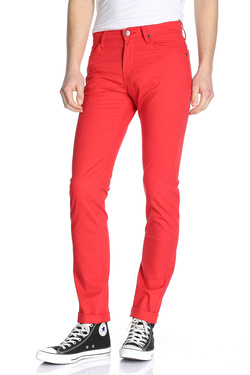 Pantalon LEE L701SC50 Rouge