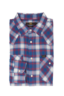 Chemise manches longues LEE L643GIFE Bleu