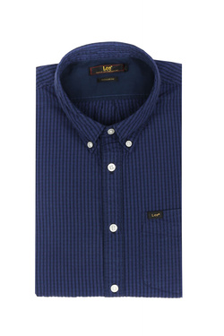 Chemise manches courtes LEE L886GDEE Bleu marine